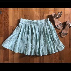 New torrid mint circle skirt
